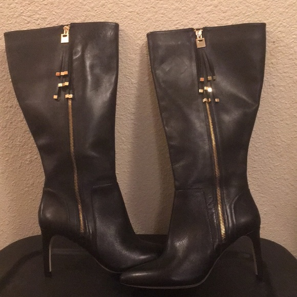 Boots Beautiful Inc International Concepts Womens Ankle Boots Size 8m.black Suede Zipper .new Women's Shoes